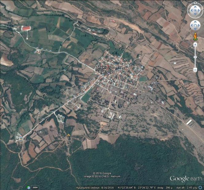 Οικόπεδο 1.100τ.μ. πρoς αγορά-Άγκιστρο » Κέντρο