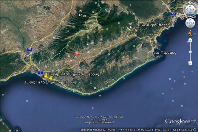 Οικόπεδο 500τ.μ. πρoς αγορά-Ορφανό » Παραλία οφρυνίου
