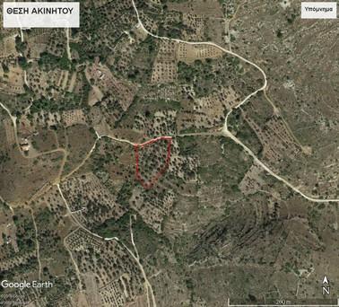 Οικόπεδο 4.744τ.μ. πρoς αγορά-Χίος » Καρδάμυλα