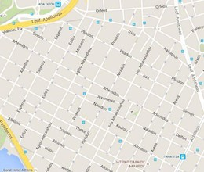 Parking 123τ.μ. πρoς αγορά-Παλαιό φάληρο » Κέντρο