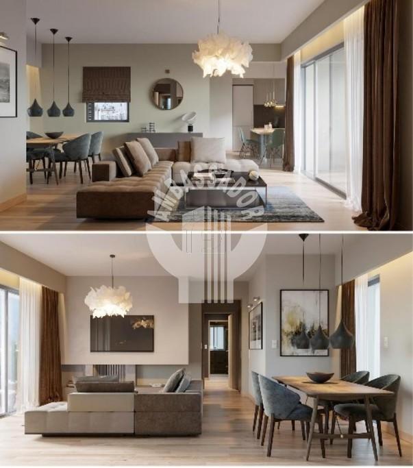 Διαμέρισμα 52τ.μ. πρoς αγορά-Μονή μεταμορφώσεως