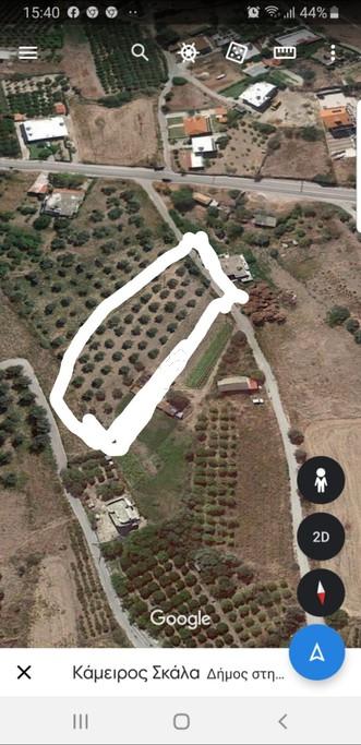 Οικόπεδο 3.000τ.μ. πρoς αγορά-Ρόδος » Κάμειρος