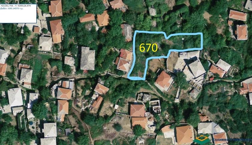 Οικόπεδο 670τ.μ. πρoς αγορά-Μηλιές » Άγιος γεώργιος νηλείας