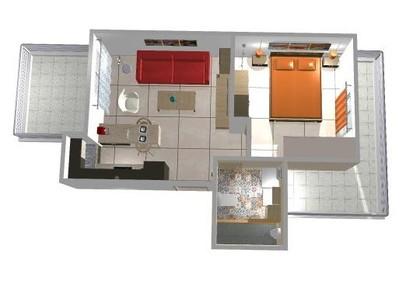 Διαμέρισμα 41τ.μ. πρoς αγορά-Καλαμάτα » Φαρές