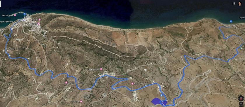 Οικόπεδο 1.350τ.μ. πρoς αγορά-Λάμπη » Αγία γαλήνη
