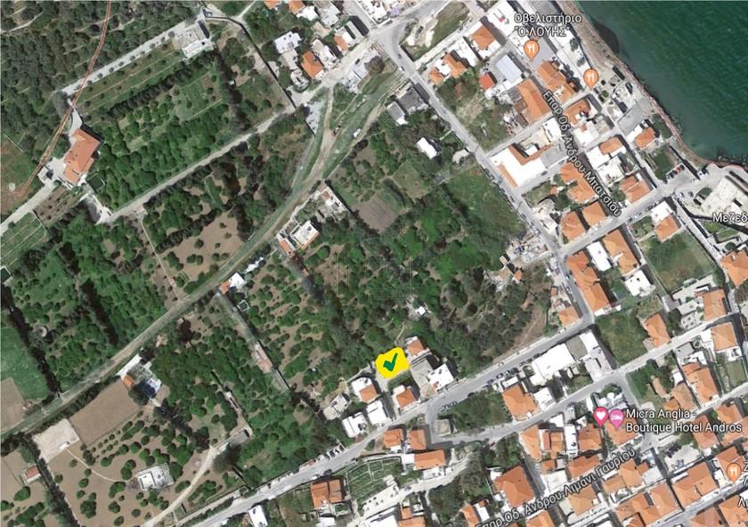 Οικόπεδο 250τ.μ. πρoς αγορά-Άνδρος » Χώρα