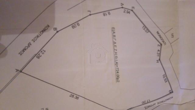 Οικόπεδο 726τ.μ. πρoς αγορά-Ευρύμενο » Καρίτσα