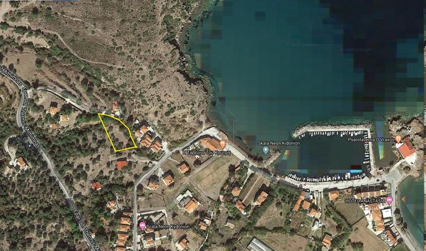Οικόπεδο 1.840τ.μ. πρoς αγορά-Λέσβος - λουτρόπολη θερμής