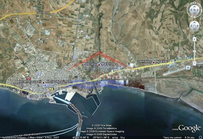 Οικόπεδο 3.195τ.μ. πρoς αγορά-Αλεξανδρούπολη » Μαϊστρος