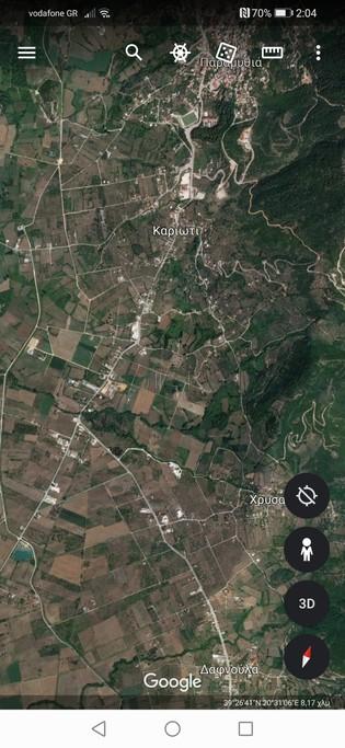 Οικόπεδο 2.400τ.μ. πρoς αγορά-Παραμυθιά » Άγιος γεώργιος