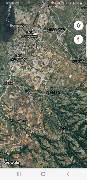 Αγροτεμάχια 12.000τ.μ. πρoς ενοικίαση-Βουπρασία