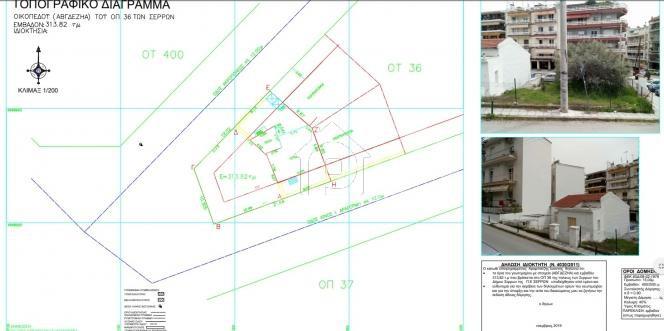 Οικόπεδο 155τ.μ. πρoς αγορά-Σέρρες » Κέντρο