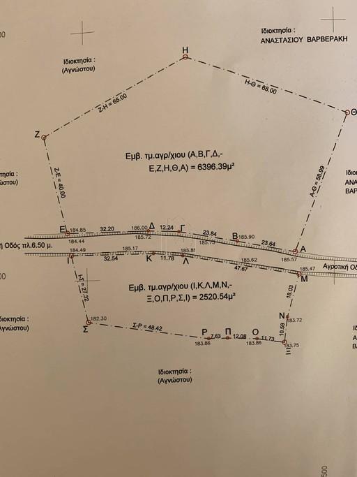 Αγροτεμάχια 8.900τ.μ. πρoς αγορά-Επίδαυρος » Γαλαναίικα