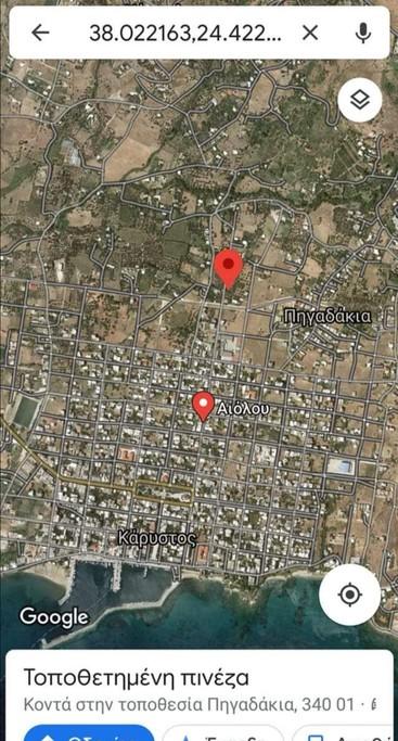 Οικόπεδο 264τ.μ. πρoς αγορά-Κάρυστος » Πηγαδάκια