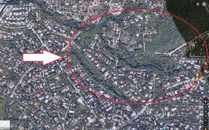 Οικόπεδο 1.125τ.μ. πρoς αγορά-Εκάλη